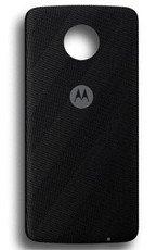 Lenovo MotoMods Style Shell Czarny Jodełkowy Nylon