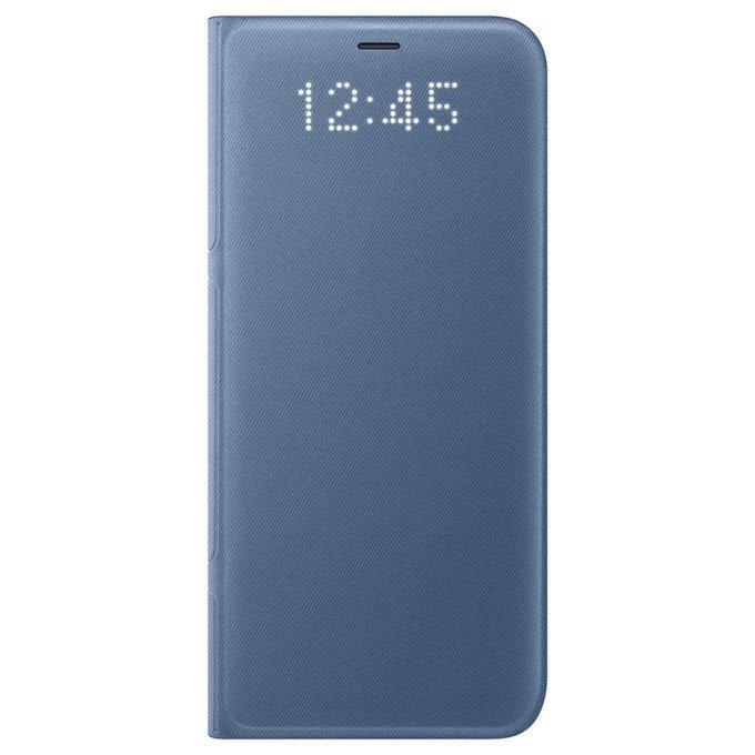 Etui LED View cover do Galaxy S8 Niebieskie (EF-NG950PLEGWW)