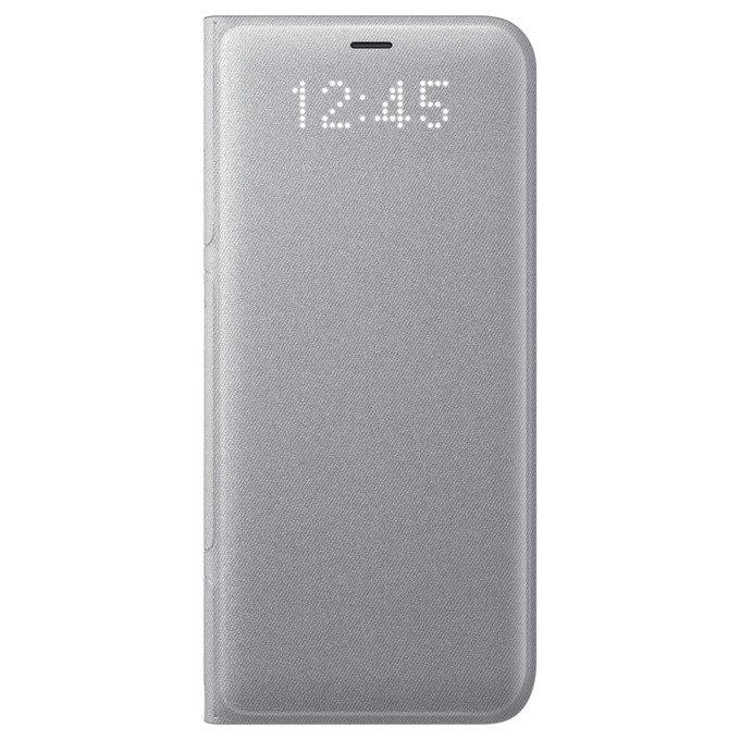 Etui LED View cover do Galaxy S8 Srebrne (EF-NG950PSEGWW)
